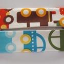Zsebkendőtartó autós, Mindenmás, Apró segítség az orrfújáshoz kisgyerekeknek :)  Designer pamutvászon és fehér pamutvászon felhasznál..., Meska