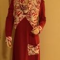 Lagenlook ajándékkal !, Ruha, divat, cipő, Női ruha, Ruha, Varrás, Legyen tiéd ez a  ruha amit kiváló minőségű pamut anyagból készítettem.Rendkívül mutatós a színben ..., Meska