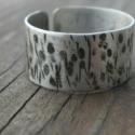20%-os AKCIÓ!!! Alpakka unisex gyűrű, 0,6 mm-es alpakka lemezből készítettem ezt a ny...