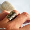 Hammeredke:-) .....máshogy, A hammered gyűrűm testvérét láthatod most. A ...