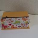 Pillangós doboz, Ékszer, Ékszertartó, Ékszerdoboz, Mindenmás, Textillel bevont kartonból készült doboz. Alkalmas zsebkendő, ékszerek, valamint apró tárgyak tárol..., Meska