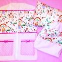 Ovis csomag hercegnős, Minőségi designer textilből készített csomag....