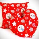 Karácsonyi párna szett, Otthon, lakberendezés, Dekoráció, Ünnepi dekoráció, Karácsonyi, adventi apróságok, Stílusos, cuki karácsonyi díszpárna szett. Most Akciós áron!  A szett tartalma: -1db szív alakú párn..., Meska
