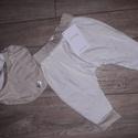"""""""Manó nadrág"""" sálkendővel     , Ruha, divat, cipő, Gyerekruha, Baba (0-1év), Kisgyerek (1-4 év), Gyermek nadrág, uniszex, kendő formájú sállal Nadrág mérete: 92 Dereka gumis, felhajtható derékpántt..., Meska"""
