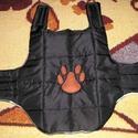 Vízálló kutyaruha bélelt kutyakabát XS (2-3 kg), Állatfelszerelések, Vatelinnel bélelt meleg kutyakabát 2-3 kg-os kutyusra Háta hossza 25 cm Nyakbőség 22-26cm Mellbőség ..., Meska