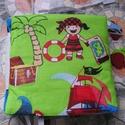 Készségfejlesztő puhakönyv, textilkönyv, Baba-mama-gyerek, Játék, Készségfejlesztő játék, 18x18 cm méretű foglalkoztató könyv kicsiknek Tanulható belőle a színek ismerete, a cipőfűzés, a lef..., Meska