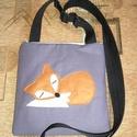 Egyedi rókás táska (giorgo79) - Meska.hu