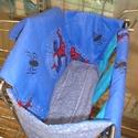 Pókember/Spiderman Bevásárlókocsi huzat, Baba-mama-gyerek, Baba-mama kellék, Varrás, Minden kisgyermek szívesen utazik a bevásárló kocsiban Sajnos ezek a kocsik télen hidegek,nyáron fo..., Meska