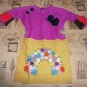Egyedi női tunika M/L, Ruha, divat, cipő, Női ruha, Készen vásárolt TOPSHOP pulóvert tettem egyedi tunikává a különleges darabok kedvelőinek Hossza 78 c..., Meska