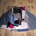 Egyedi női hippi mellény S - es, Ruha, divat, cipő, Női ruha, Készen vásárolt mellényt alakítottam egyedivé a bohém stílus kedvelőinek Hossza 50 cm Mellbőség 86 c..., Meska