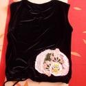 Baglyos női mellény M - es, Ruha, divat, cipő, Női ruha, Készen vásárolt mellényt terveztem újra vidám bagollyal Hossza 52 cm Mellbősége 90 cm Utalás beérkez..., Meska