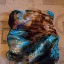 Egyedi női csősál, Ruha, divat, cipő, Kendő, sál, sapka, kesztyű, Sál, Kétrétegű sál különleges színárnyalatban Szélessége 30 cm Bősége körbe 54 cm Utalás beérkezte után e..., Meska