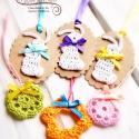 Vidám, színes Húsvét! - dekorációs csomag, Ezt a dekorációs csomagunkat barkaágak díszít...
