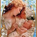 """""""Ami igazán fontos, az eljön az életedbe"""" -Goldi kártya, Dekoráció, Karácsonyi, adventi apróságok, Szerelmeseknek, Baba-mama-gyerek, Festett tárgyak, Amire nagyon vágysz, eljön az életedbe!  Ezt a szívmelengető """"örök igazságot"""" hordozza ez a kis kár..., Meska"""