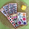 Fejlesztő kártyák babáknak - színes (2 hónapos kortól), Baba-mama-gyerek, Játék, Baba-mama kellék, Készségfejlesztő játék, Decoupage, transzfer és szalvétatechnika, Fotó, grafika, rajz, illusztráció, A babák színlátása, illetve az árnyalatok érzékelése átlagosan három hónapos korukra alakul ki. Élv..., Meska