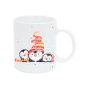 Pulee kerámia bögre névvel - téli állatok - pingvinek, Baba-mama-gyerek, Konyhafelszerelés, Bögre, csésze, Mindenmás, Reggeli kakaó? Esti tea? Kedvenc kisállatod már a bögréden is veled lehet!  Egyedi grafikával ellát..., Meska