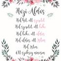 Pulee vászon kép keretben - Házi Áldás, Dekoráció, Otthon, lakberendezés, Kép, Falikép, Festett tárgyak, Fotó, grafika, rajz, illusztráció, Egyedi grafikával nyomtatott, hangulatos vászon kép fehér keretben, mely tökéletes kiegészítője leh..., Meska