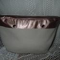 Rosegold classic  o bag belső, Táska, Válltáska, oldaltáska, Rosegold textilbőrből és erős vászonból készült o bag classic méretű táska belső.Táskamerevítővel ké..., Meska