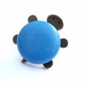 Teknős kitűző - kék, Jön a nyár, újra eéőúsztak a teknőseim. Jel...