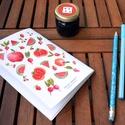 Mini ajándékcsomag, Naptár, képeslap, album, Jegyzetfüzet, napló, Készülj fel az iskolakezdésre stílusoson! Két Goods from gardens alkotónk összeállt egy mini..., Meska