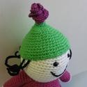 Horgolt Lili, a rózsabogár, Gyerek & játék, Játék, Baba játék, Teljesen horgolással készítettem el Bartos Erika mesefiguráját, aki nagyon várják már új gazdáját.  ..., Meska