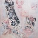 légifelvétel c. festmény, Művészet, Festmény, Akril, Festészet, akril festékkel készült absztarkt festmények. méretük: 40x40 cm. együtt is külön is megvehetőek. 20..., Meska