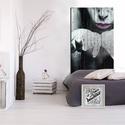 Gubek Erzsébet Pitypang - fakép Lépj be a fantázia világába! Lélegzetelállító design képek a nappalidba, Képzőművészet, Otthon, lakberendezés, Grafika, Fotográfia, Fotó, grafika, rajz, illusztráció, Egyedi tervezésű képet 10 cm széles fenyőfa csíkokra applikáljuk, faviasszal kezeljük, így lesz ant..., Meska