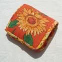 Napraforgós szatyor, Vidám narancsos anyagból készítettem ezt az ö...