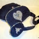 Reneszánszos kékben - marjenka részére, A bordós-lilás reneszánszos táskám ihlette ez...