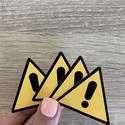 MATRICA / matrica saját logóval / vízálló matrica / címke / felirat / logó / köszönet / ajándék / csomag / csomagolás, Otthon & Lakás, Papír írószer, Ajándékzsák & Csomagolás, Fotó, grafika, rajz, illusztráció, Élénk színű, figyelemfelkeltő, veszélyre figyelmeztető matrica. Használd munkaközben egy eszközre f..., Meska