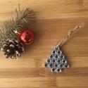 Fenyő Karácsonyfa dísz, Karácsony & Mikulás, Karácsonyi dekoráció, Fémmegmunkálás, Mindenmás, Fenyő Karácsonyi design dísz, a termékek elkészítésénél, a magas minőségű anyagok és a személyes ig..., Meska