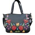 Kalocsai mintás táska, Egy gyönyörű kalocsai hímzésminta részlete k...