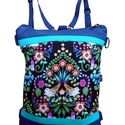 Madaras designer táska (AKCIÓS), Hátizsák és oldaltáska egyben. Sötétkék és...