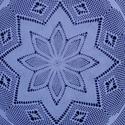Horgolt fehér terítő (74cm), Otthon & lakás, Lakberendezés, Lakástextil, Terítő, A terítő legnagyobb átmérője kb 74 cm, hófehér horgolócérnából készült. Szép tartását a keményítőtől..., Meska