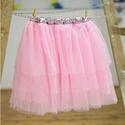 Tütü 40-50 cm-es hosszal választható, állítható derékkal (rózsaszín), Ruha, divat, cipő, Női ruha, Szoknya, A hercegnős tütü szoknyánk több rétegű tüll anyagból áll, az alsó rétege pedig batiszt. A kényelmes ..., Meska