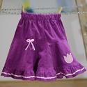 Bíbor lila, pörgős, 74-104-es lány kord szoknya pamut  csipke díszítéssel , Ruha, divat, cipő, Gyerekruha, Baba (0-1év), Kisgyerek (1-4 év), A bíbor lila, pörgős, lány kordbársony szoknya anyaga bőrbarát: 95 % pamut, 5 % elasztán (ez..., Meska