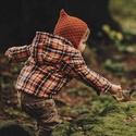 Fauna és Puck manósapkák, Baba-mama-gyerek, Ruha, divat, cipő, Gyerekruha, Baba (0-1év), Kötés, FAUNA: Anyaga:  OEKO-TEX minősítéssel rendelkező 100% superwash merinó gyapjú  Mosási instrukciók: ..., Meska