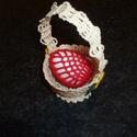 Húsvéti apróságok, Húsvéti apróságok, Horgolt húsvéti tojástartók különböző színekben és mintával., Meska