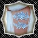 Esküvői, menyasszonyi harisnyakötő szett  ES-HK01-1, *ES-HK01-1  A szett két darabból áll, gumirozot...