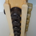 Tchibo Kávékapszula-tartó (juhar éger oszlop), Konyhafelszerelés, Otthon, lakberendezés, Tárolóeszköz, Tömör fából készült Tchibo kapszulatartó, mely a konyhád méltó dísze lehet  Tulajdonságai: - juhar é..., Meska