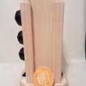 Dolce Gusto kávékapszula-tartó 16-os (kőris), Konyhafelszerelés, Otthon, lakberendezés, Tárolóeszköz, Tömör fából készült Nescafe Dolce Gusto kapszulatartó, mely a konyhád méltó dísze lehet  Tulajdonság..., Meska