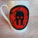 Spartan Race bögre, Mindenmás, Konyhafelszerelés, Férfiaknak, Spartan Race Live logóval díszített bögre, ideális ajándék lehet férfinak és nőnek egyará..., Meska