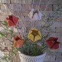 5 db Színes Tavaszi Tulipánok Kerámiából (tp.28), Dekoráció, Otthon, lakberendezés, Húsvéti apróságok, Kaspó, virágtartó, váza, korsó, cserép, Kerámia, Virágkötés, Szedj egy csokrot a virágos kertemből !Állítsd össze saját csokrod! Tedd kosárba valamelyik összeál..., Meska