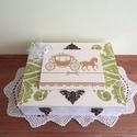 Mókás apróságok az ifjú párnak! - FELTÖLTVE, Esküvő, Nászajándék, Vintage stílusban készített 12 rekeszes fadoboz esküvőre, lánybúcsúra, eljegyzésre.  A dobozt 2 reke..., Meska