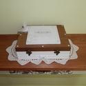 Nászajándék doboz esküvőre - FELTÖLTVE - Tréfás ajándékok, Esküvő, Nászajándék, Fontos!!! Rendelésre készülő terméket csak előzetes egyeztetés után vállalok. Az elkészítési idő táj..., Meska