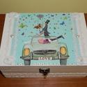 Nászajándék doboz esküvőre -Esküvői doboz, Esküvő, Nászajándék, Fontos!!! Rendelésre készülő terméket csak előzetes egyeztetés után vállalok. Kérlek vásárlás előtt ..., Meska