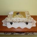 Mókás apróságok az ifjú párnak! - FELTÖLTVE - Nászajándék, Esküvő, Nászajándék, Vintage stílusban készített 12 rekeszes fadoboz esküvőre, lánybúcsúra, eljegyzésre.  Ebből a dobozbó..., Meska