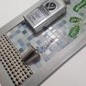 Jagermeister - 3D mozaik falikép dekoráció eredeti fém dobozos