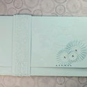 Pénzátadó boríték  - pasztell világoskék hintaló : HMB2106_65, Pénzajándékodat, vagy az ajándékkísérő üz...