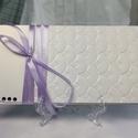 Romantikus dombormintás pénzátadó boríték, Nászajándék, Gratulálunk boríték, Esküvői Gratuláció : HMB2107_65, Mérete:  21 x10.5 cm  Pénzajándékodat, vagy az...